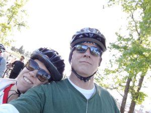Leslie and Thomas selfie
