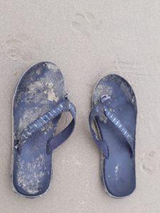 broken flip flop